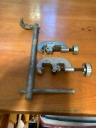 Plumbing Tools Lot Of 3 Pipe Cutters