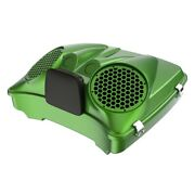 Radioactive Green Dual 8and039and039 Speaker Lids For Advanblack/harley Razor Tour Pak