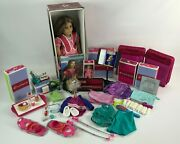 American Girl Doll Retired Marie Grace With Box Bundle Lot With Extras - Used