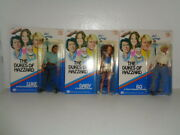 Catherine Bach, John Schneider And Tom Wopat Signed Dukes Of Hazzard Mego Figures
