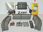 Mth / Rail King Z-750 Hobby Transformer Power Unit, Remote, 12 Trucks And More