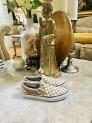 Checkered Slip On Sneakers Shoes Skate Size 9.5 Womens 8 Menandrsquos
