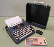 Olivetti Lettera 82 Manual Portable Typewriter Ready To Type - A Hermes Rocket