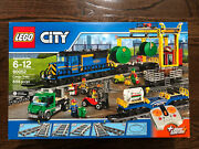Lego City 60052 Cargo Train + Power Functions Retired Set New In Sealed Box