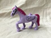 Lego Duplo Sofia The First Flying Pony Minimus Purple Horse Wings Castle Stable