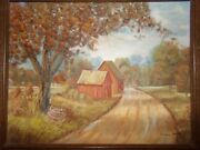 Original Painting By Francis Barker Of Kingston, Tennessee
