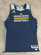 Indiana Pacers Adidas Practice Worn Team Player Issued Jersey Xxl +2 Nba Game