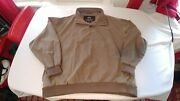 Vintage Menand039s Xl Mercedes-benz Credit Union Weatherproof Pull Over Shirt