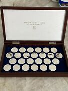 1988 British Virgin Islands New Treasures Of The Caribbean 25 Proof Silver Coins