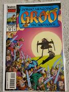 Groo The Wanderer 120 / Sergio Aragones / Htf Last Issue Of The Series / 1995