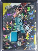 Ball Lamelo - 2021 Panini National Silver Pack - Swatch - Card Rc1 - 11/25