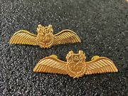 Republic Of Singapore Rsaf Air Force Pilot Wing. Obsolete And Current Issue.