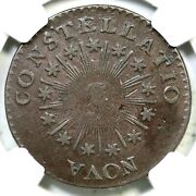 1785 C 2-a Ngc Xf 45 Sm Date Point Rays Nova Constellatio Colonial Copper Coin