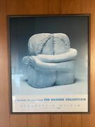 """Constantin Brâncusi """"the Kiss"""" The Nasher Collection @guggenheim Museum Poster"""