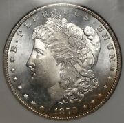 1879-s Morgan Dollar Choice Uncirculated Ngc Ms-64 Slabbed Certified