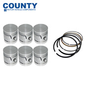 Flat Top Piston And Ring Set 040 For Austin Westminster Austin Healey 100/6 56-59