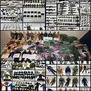 Mint Massive Gi Joe Lot 1990 - 2000 12andrdquo 29 Soldiers Accessories And Weapons
