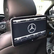 Car Tv Screen Rear Seat Android 10.0 Headrest Display Monitor For Mercedes Benz