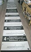 Vintage Cologne Stadtbahn Germany Trolley Destination Route Roll Sign Europe