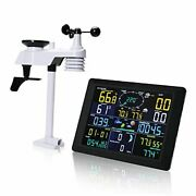 Professional Weather Stations Wireless Indoor Outdoor Thermometer Hygrometer