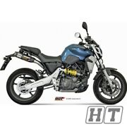 Exhaust System Mivv 2 Slip - On Stainless Steel With Carbon Cap Suono Sporty
