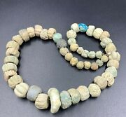Ancient Middle Eastern Egyptian Antiquity Faience Jewelry Amulet Beads String