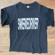 Vintage 90and039s Swervedriver Tour T Shirt Size Xl Shoegaze My Bloody Valentine