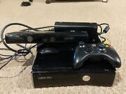 Microsoft Xbox 360 Slim S 250gb Console Power Controller Kinect Remote Reset