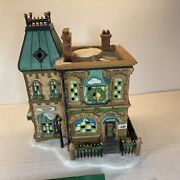 Dept 56 Dickens Village Thomas Mudge Timepieces 58307 With Box, Packaging 1998