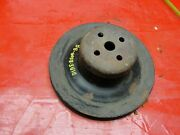 1971 1972 Ford Mustang Torino Water Pump Pulley 302 351 Cobra Jet D1ae-8509-ba