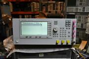 Agilent E8257c Psg Analog Signal Generator 10 Mhz-20 Ghz With Options