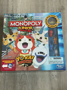 Monopoly Junior Yokai Watch Edition With Exclusive Medal Brand New And Sealed