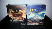 The Lord Of The Rings And The Hobbit 4k Steelbook Hdzeta Box Sets [new+mint] Low