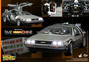 Dhl Express Hot Toys 1/6 Back To The Future Mms260 Delorean Time Machine Car