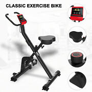 Folding Exercise Bike Cycling Bike Bicycle Home Fitness Workout Machines Home Gy