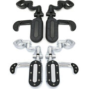 Highway Foot Pegs Footrest 1 1/4 Engine Guard Mount Clamps For Harley Breakout