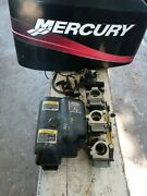 1997-2009 Mercury 40hp1 Complete Carberator Set With Linkages And Fuel Pump