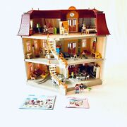 Playmobil 5302 Large Grand Mansion 99 Complete With Furniture Lot