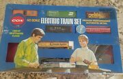 Cox Ho Scale Electric Model Train Set Vintage 1973 Great Northern Flyer Chessie