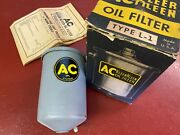 1939 40 41 Buick 1939 40 Cadillac V16 Accessory Oil Filter Canister Ac L-1 Nos