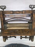 Anchor Brand 770 Clothes Wringer Patand039d May 5 1896. Lovell Mfg Co. Erie Pa