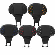Front Driver Rider Backrest Pad Fit For Harley Touring Road King Glide 1988-2021