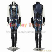 Guardians Of The Galaxy Gamora Cosplay Costume Uniform Women Halloween Outfit
