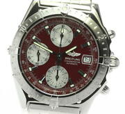 Breitling Chronomat A13348 Limited To 100 Automatic Menand039s Watch_612965
