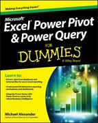 Excel Power Pivot And Power Query For Dummies By Michael Alexander 2016...