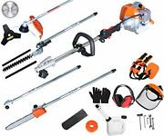 Proyama Powerful 42.7cc 5 In 1 Multi Functional Trimming Toolsgas Hedge Trimmer