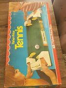 Vintage 1976 Fisher-price Tennis Game 184 Complete J.c Penny's Rare Box. Mint