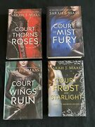 A Court Of Thorns And Roses Acotar Og Out Of Print Hardcover Set Sarah J Maas