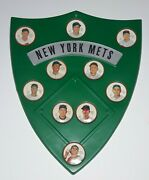 Salada 1962 New York Mets Team Set With Shield Complete 10 Coins
