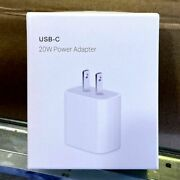 Lot 20w Pd 5/10/20/50/100 Usb Home Ac Fast Charger Adapter For Iphone 12 11 8 Xr